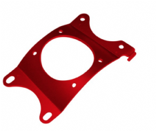 FRONT FENDER BRACE MONTESA 4RT 05-19, ALSO FITS 315R SEE REMARKS, RED